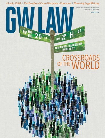 Gw law winter 2014 by moire marketing partners issuu a lucky child the benefits of cross disciplinary education mastering legal writing the george washington university law school magazine winter 2014 fandeluxe Image collections