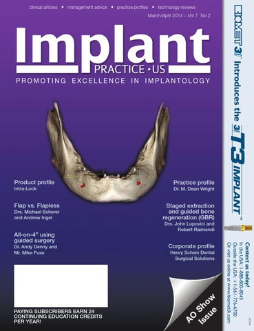 Implant Practice Us Marchapril 2014 Issue Vol72 By Medmark