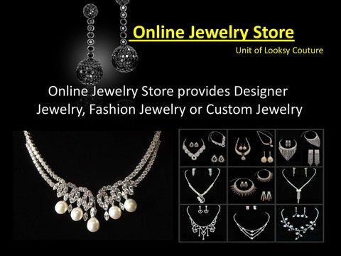 Online Fashion Jewelry Costume Jewelry Designer Jewelry Fake