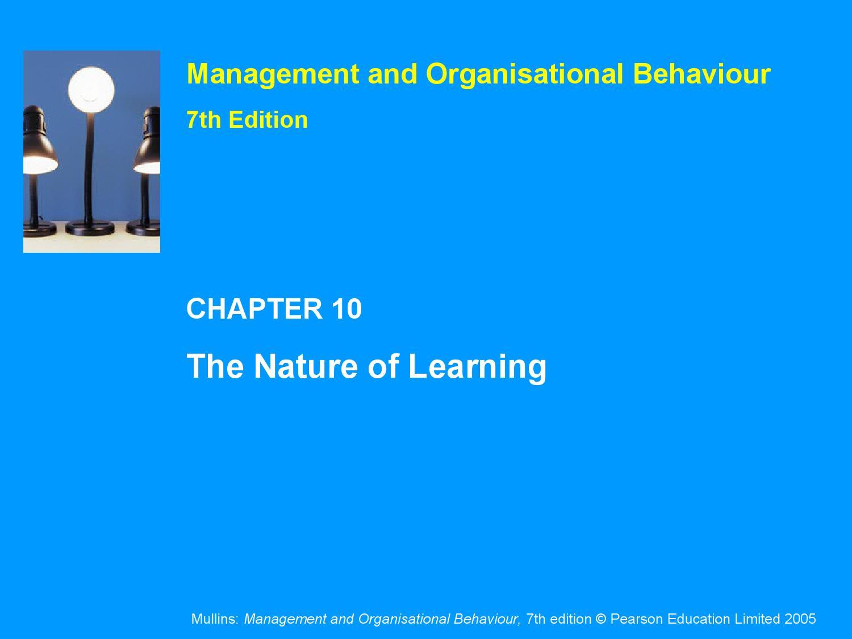 Management And Organizational Behaviour Mullins Ebook Download