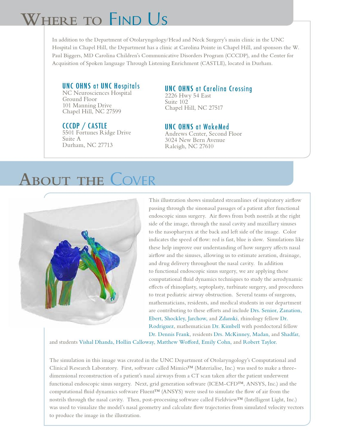 2012 UNC-Chapel Hill ENT Annual Report by ndjennings - issuu