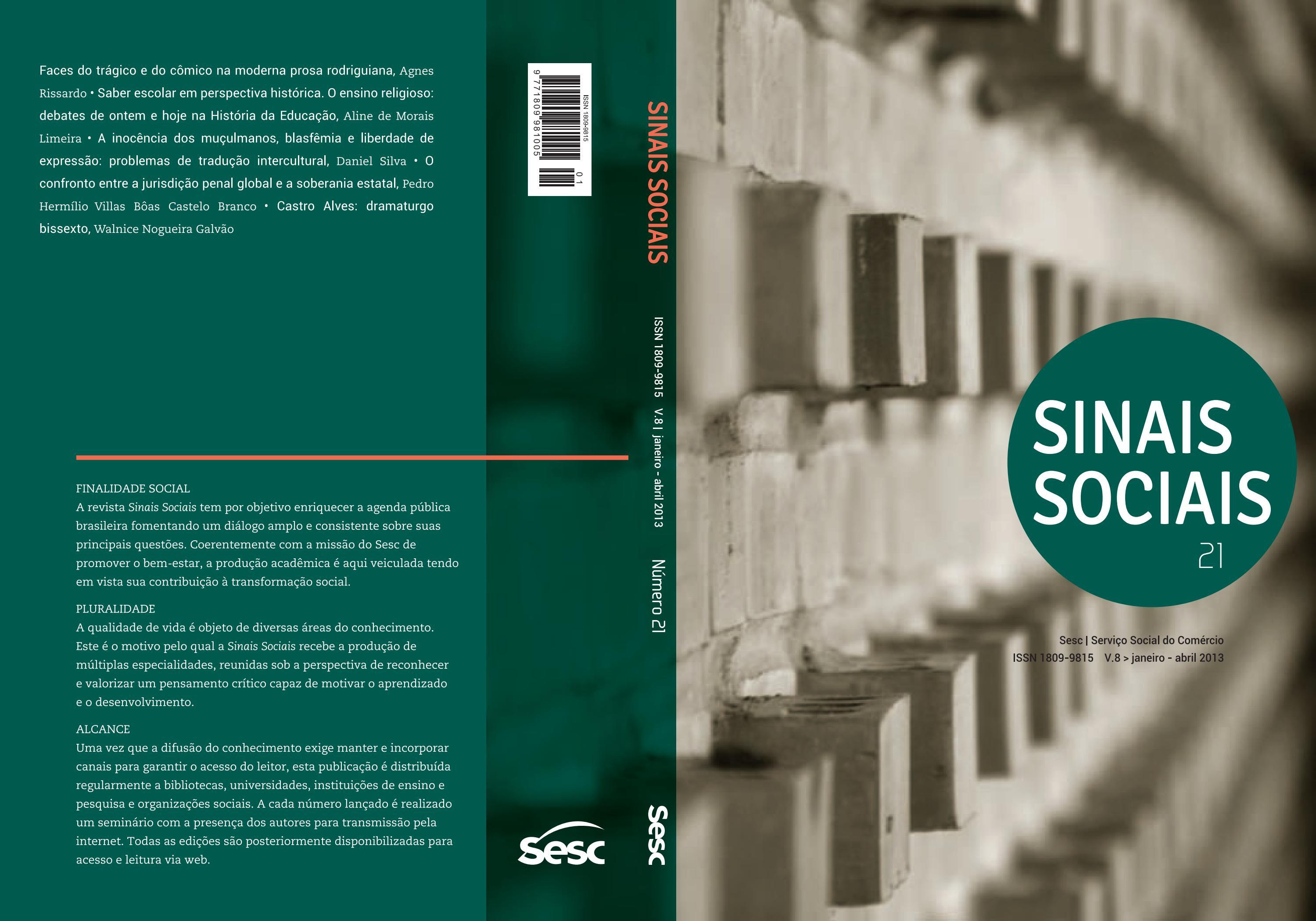 12496223b Revista Sinais Sociais by SescBrasil - issuu