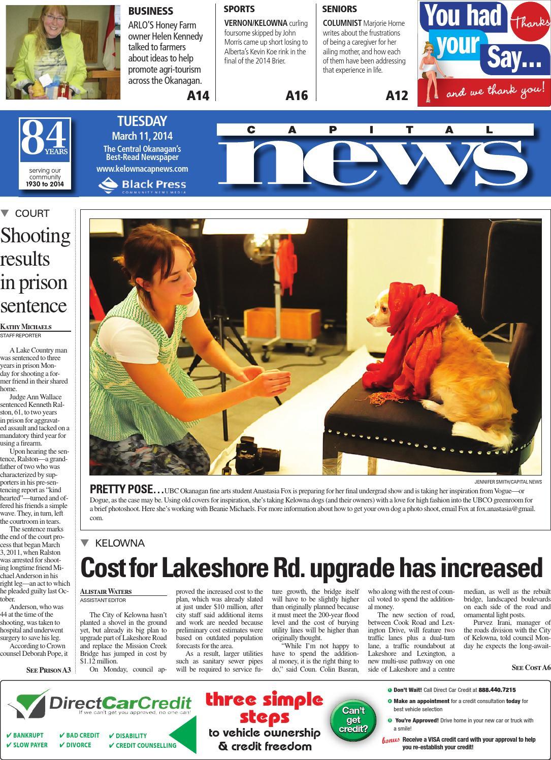 Kelowna Capital News, March 11, 2014 by Black Press - issuu