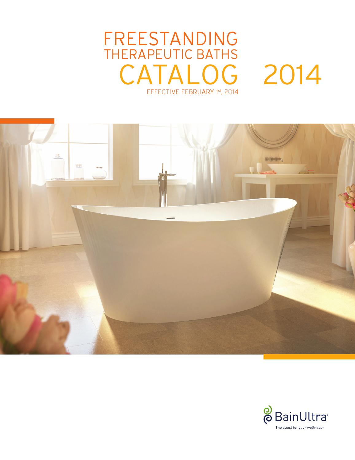 2014 FREESTANDING Therapeutic Baths CATALOG by BainUltra - issuu