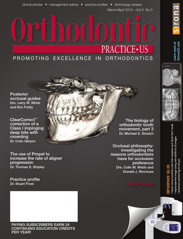 Orthodontic Practice US - March/April 2014 - Vol5.2 by MedMark, LLC ...