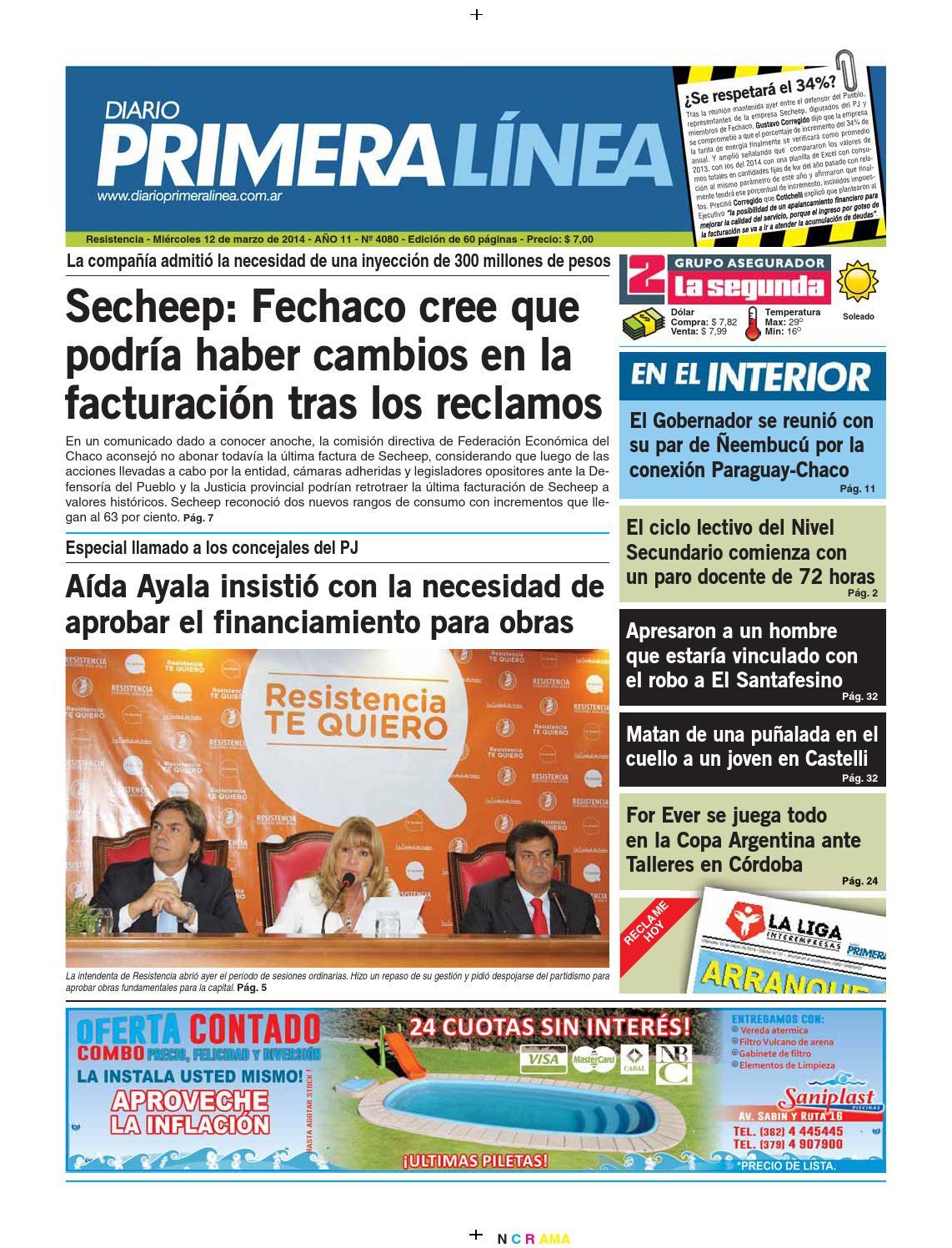 Primera Linea 4080 12 03 14 by Diario Primera Linea - issuu