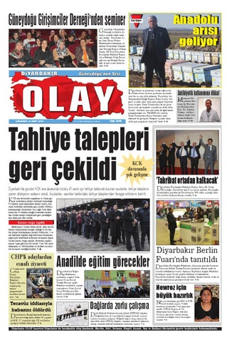12 03 2014 Gazete Sayfalari By Diyarbakir Olaygazetesi Issuu