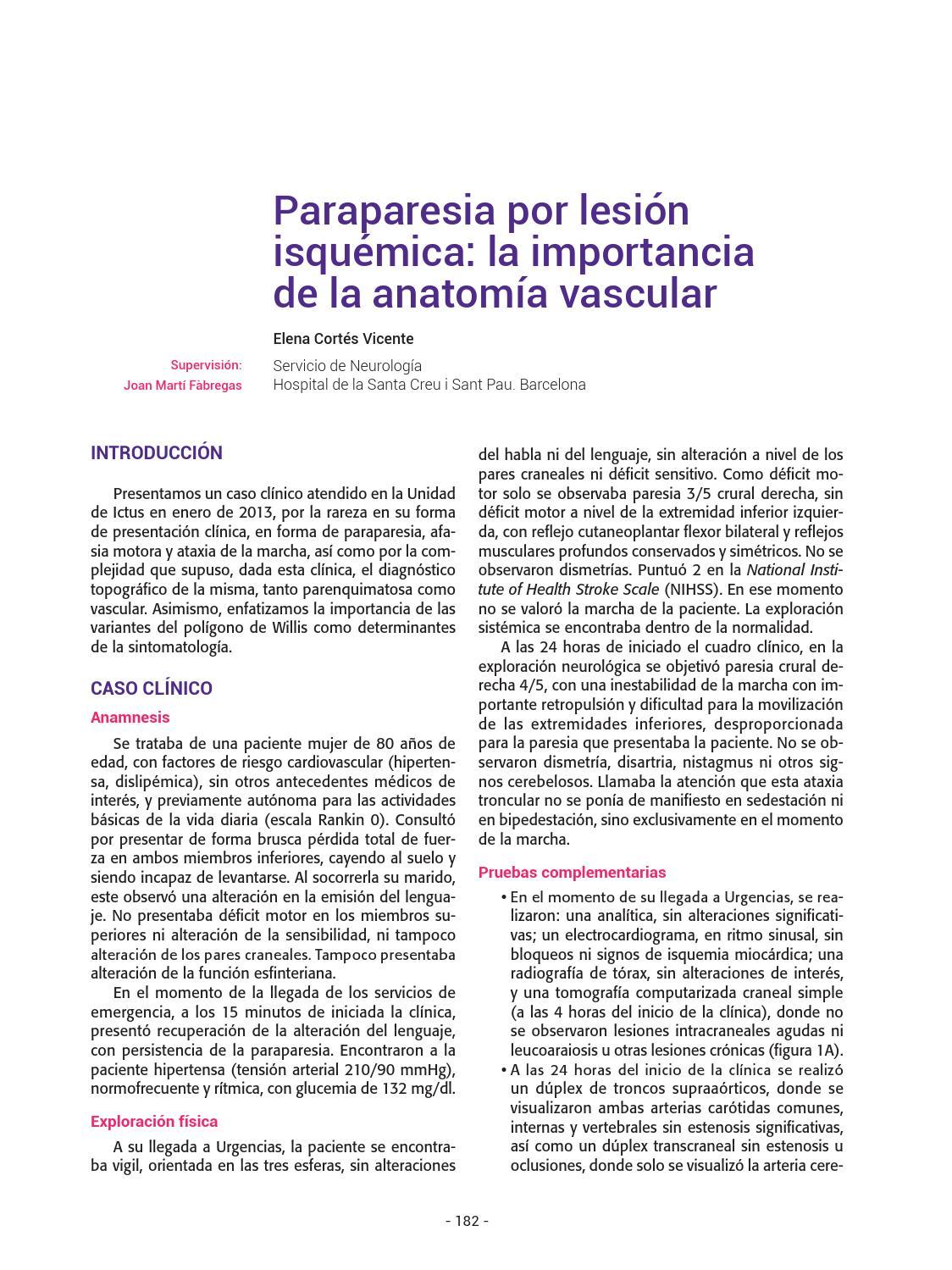 I Concurso de casos clínicos de Unidades de Ictus para residentes de ...