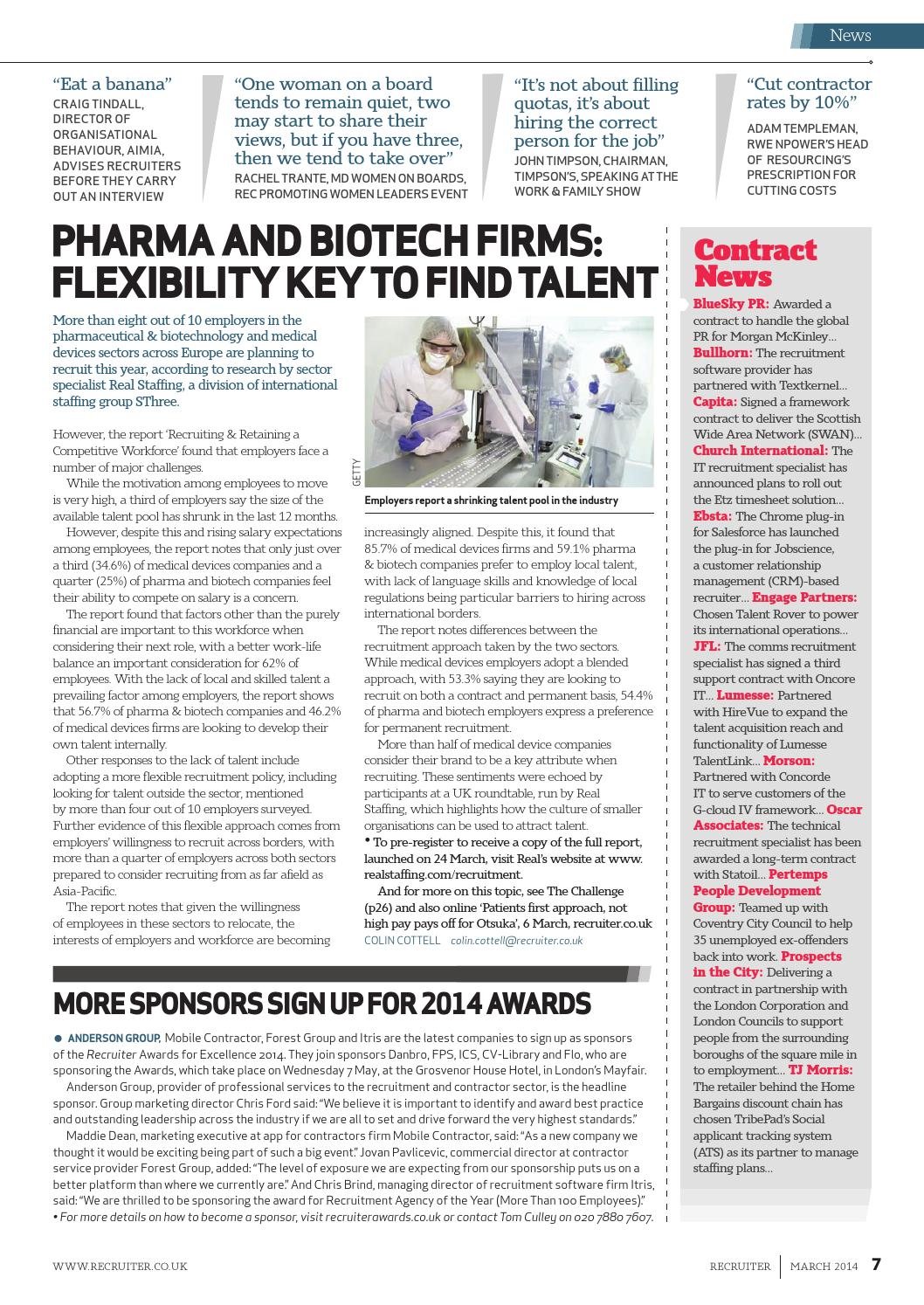 Recruiter magazine March 2014 by Redactive Media Group - issuu
