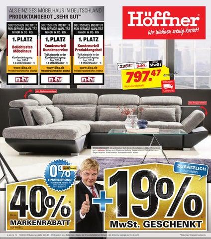 Möbel Höffner 40 Markenrabatt By Berlin Medien Gmbh Issuu
