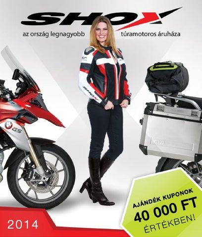 Shox Motoros Áruház 2014-es katalógusa by Shox Kft. - issuu c495f1d76c