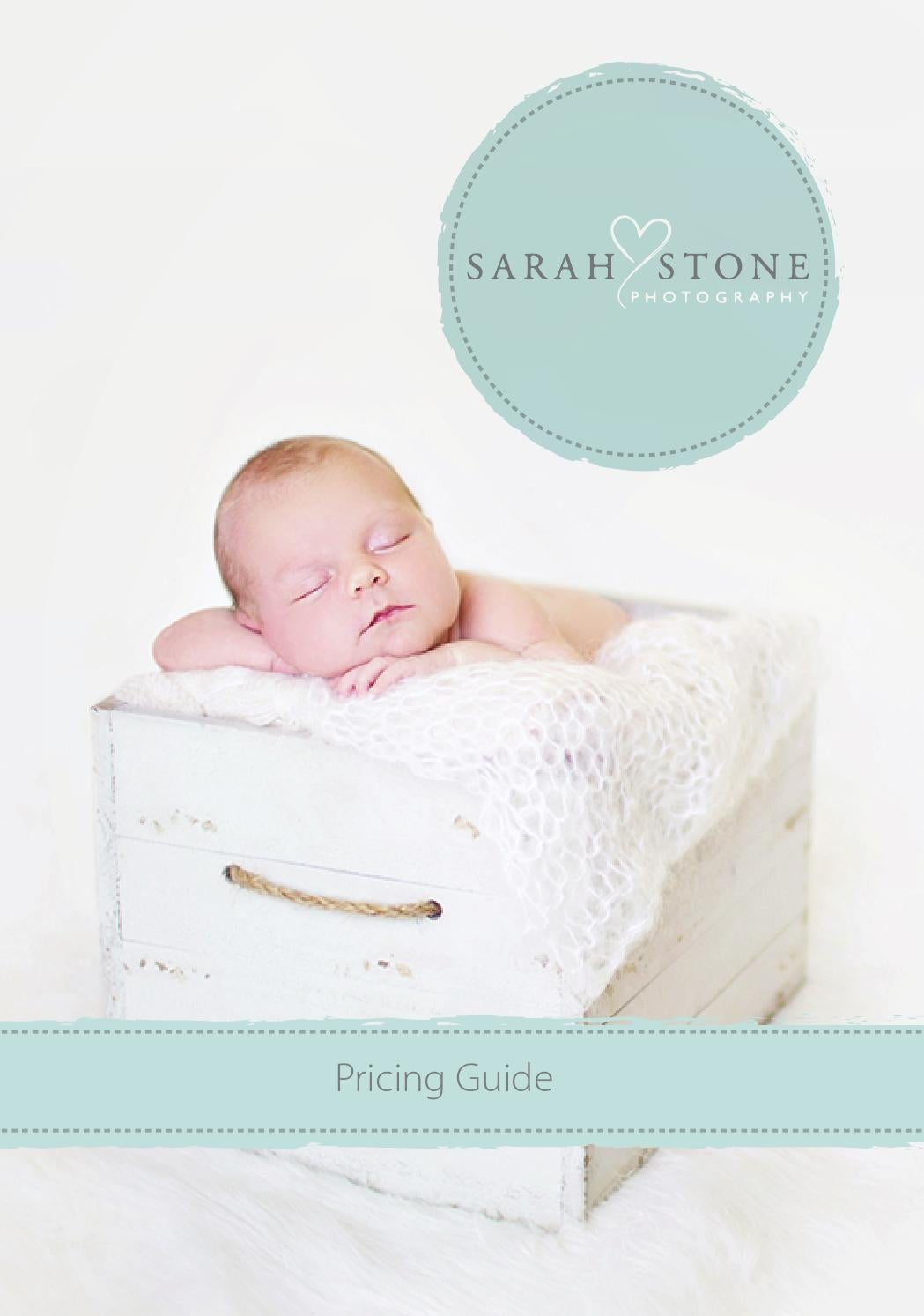 Sarah Stone Photography - Pricing Guide by Sarah Stone - issuu