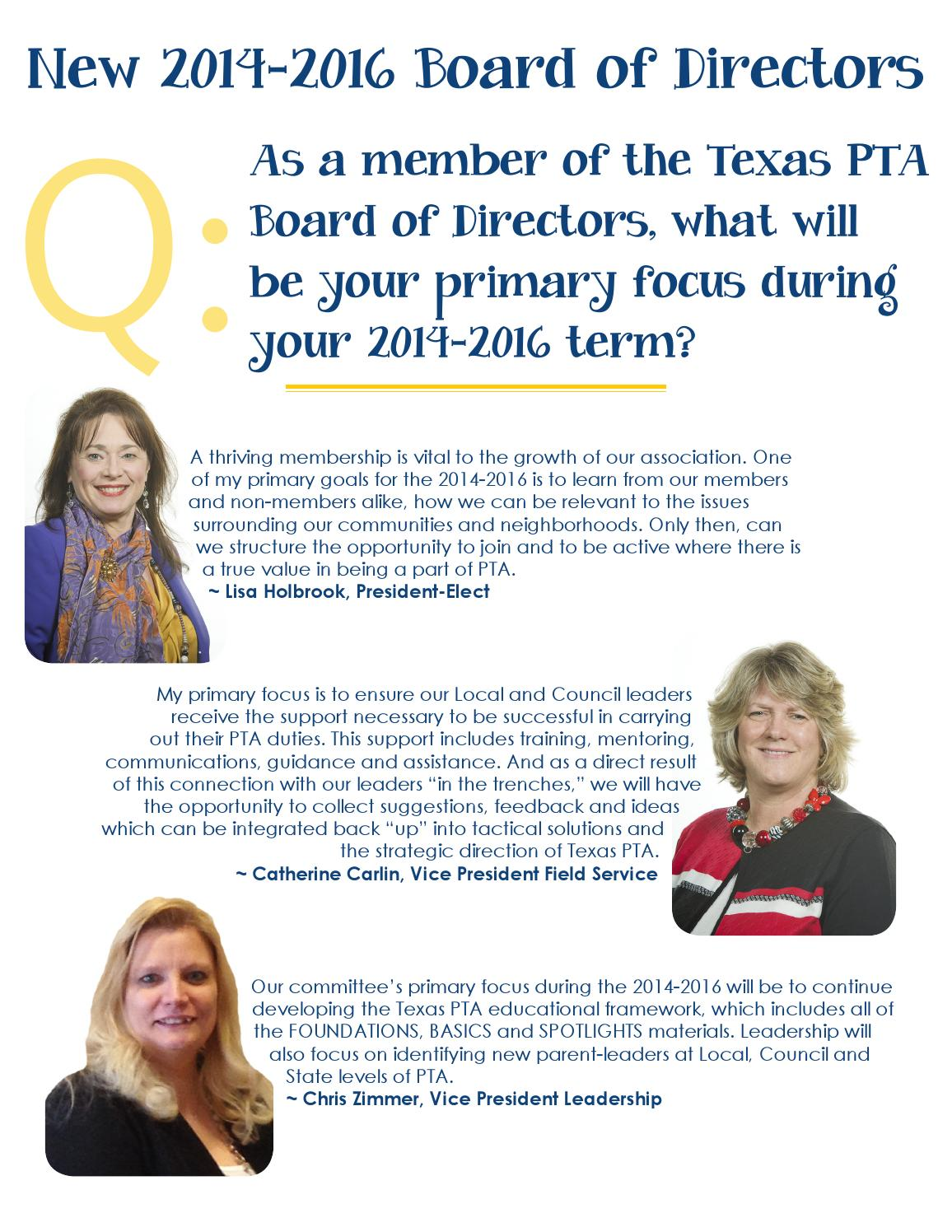 The Voice | Spring 2014 by Texas PTA - issuu