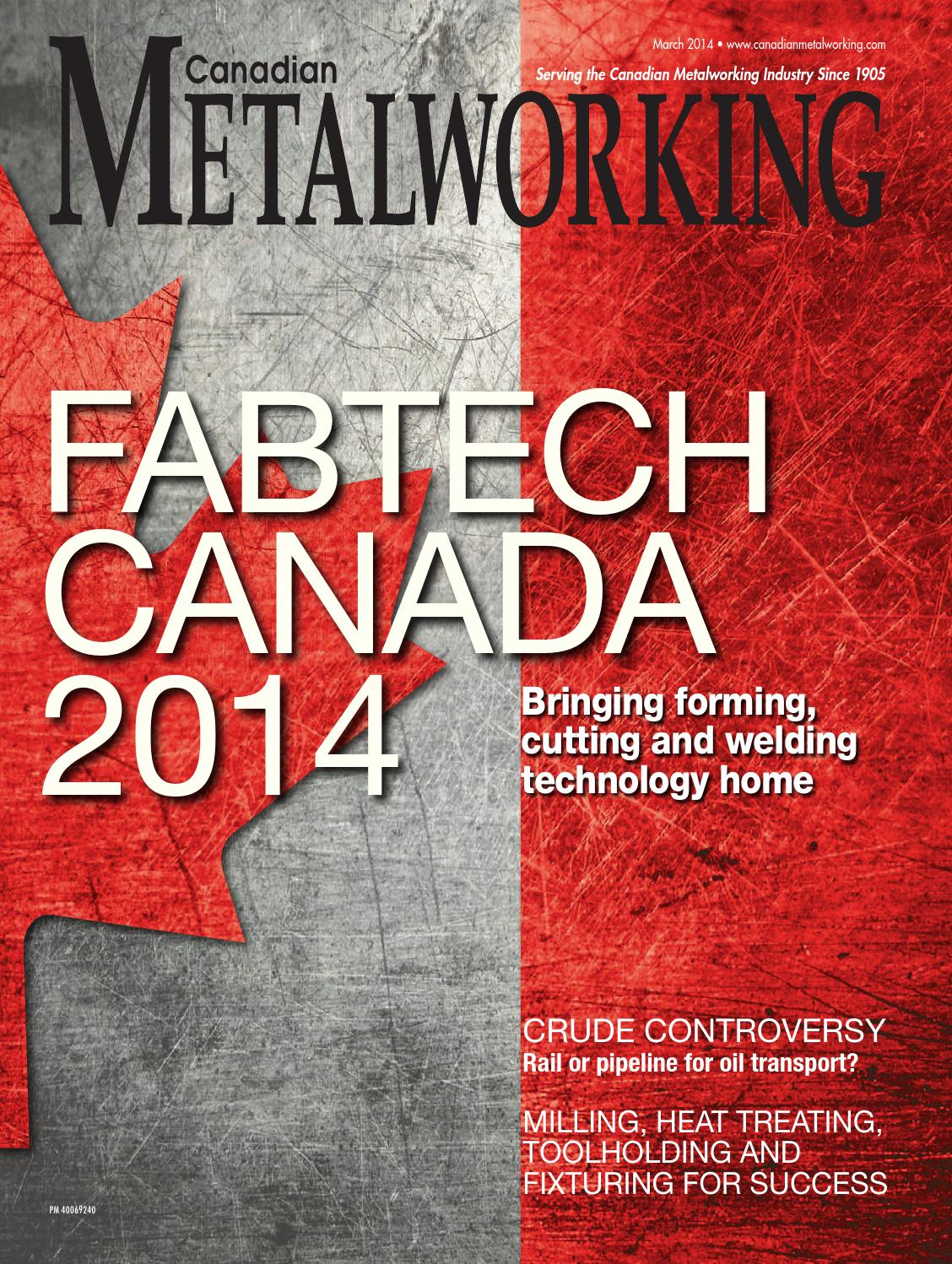 Canadian Metalworking March 2014 by Annex Newcom