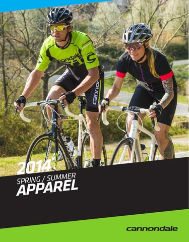13bec0edc 2014 Cannondale Spring Summer Apparel by Cannondale GLOBAL - issuu