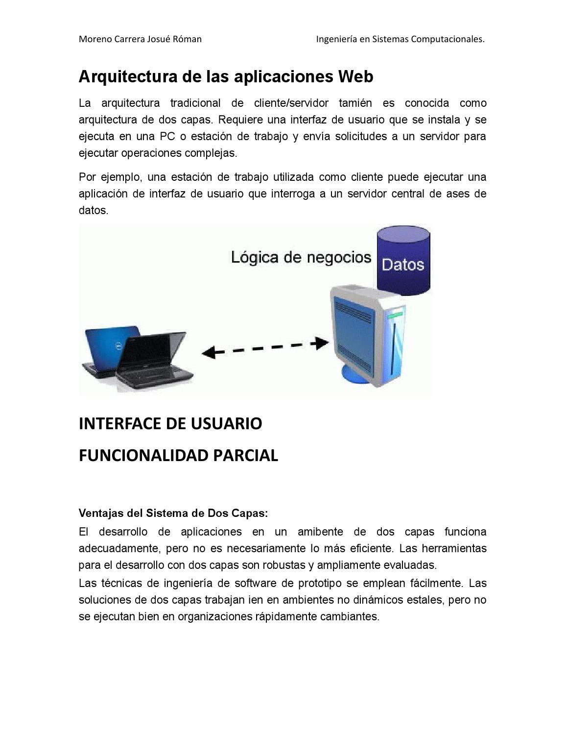 arquitectura de las aplicaciones web by josuermc issuu
