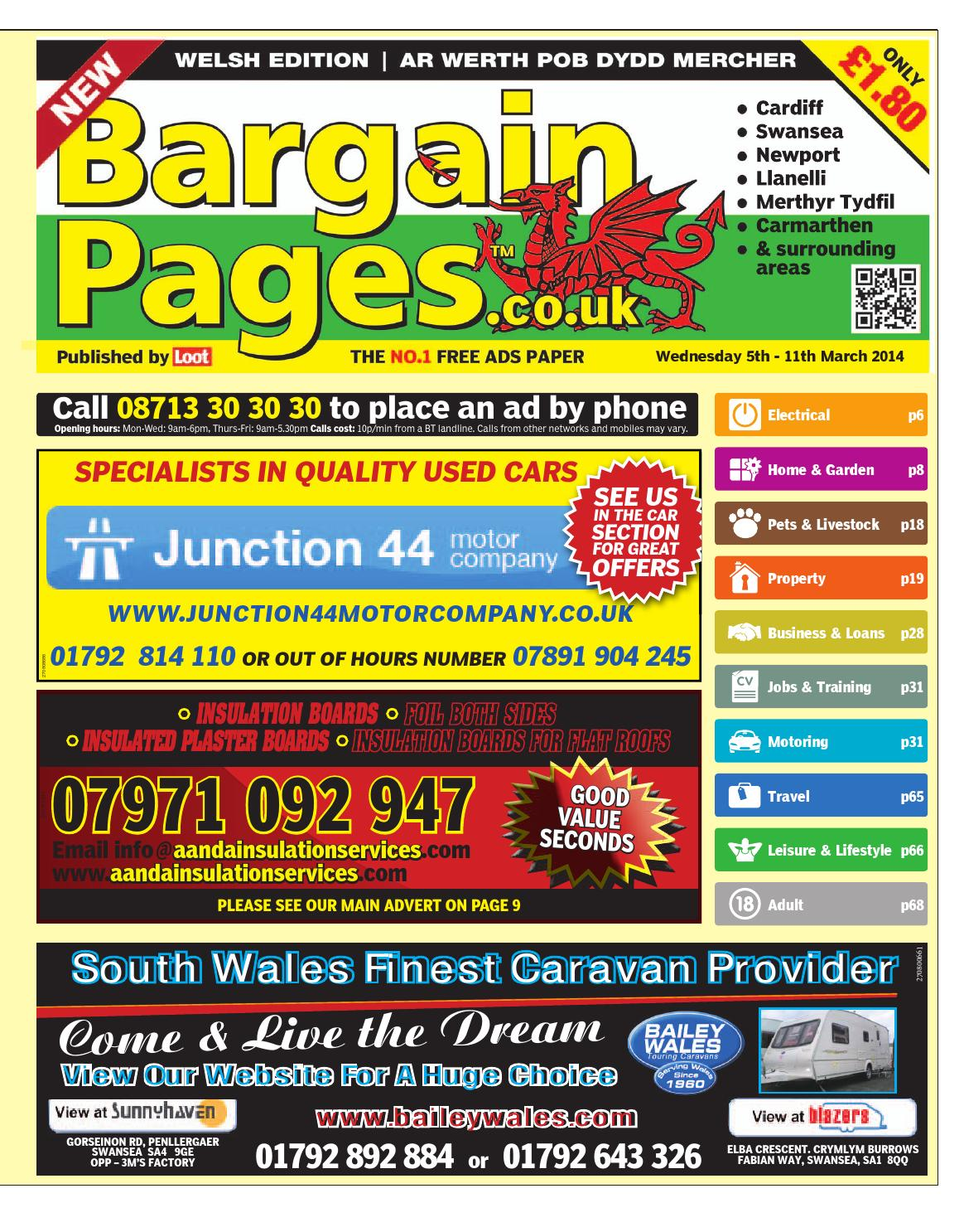 94b09b630a79 Bargain Pages Wales