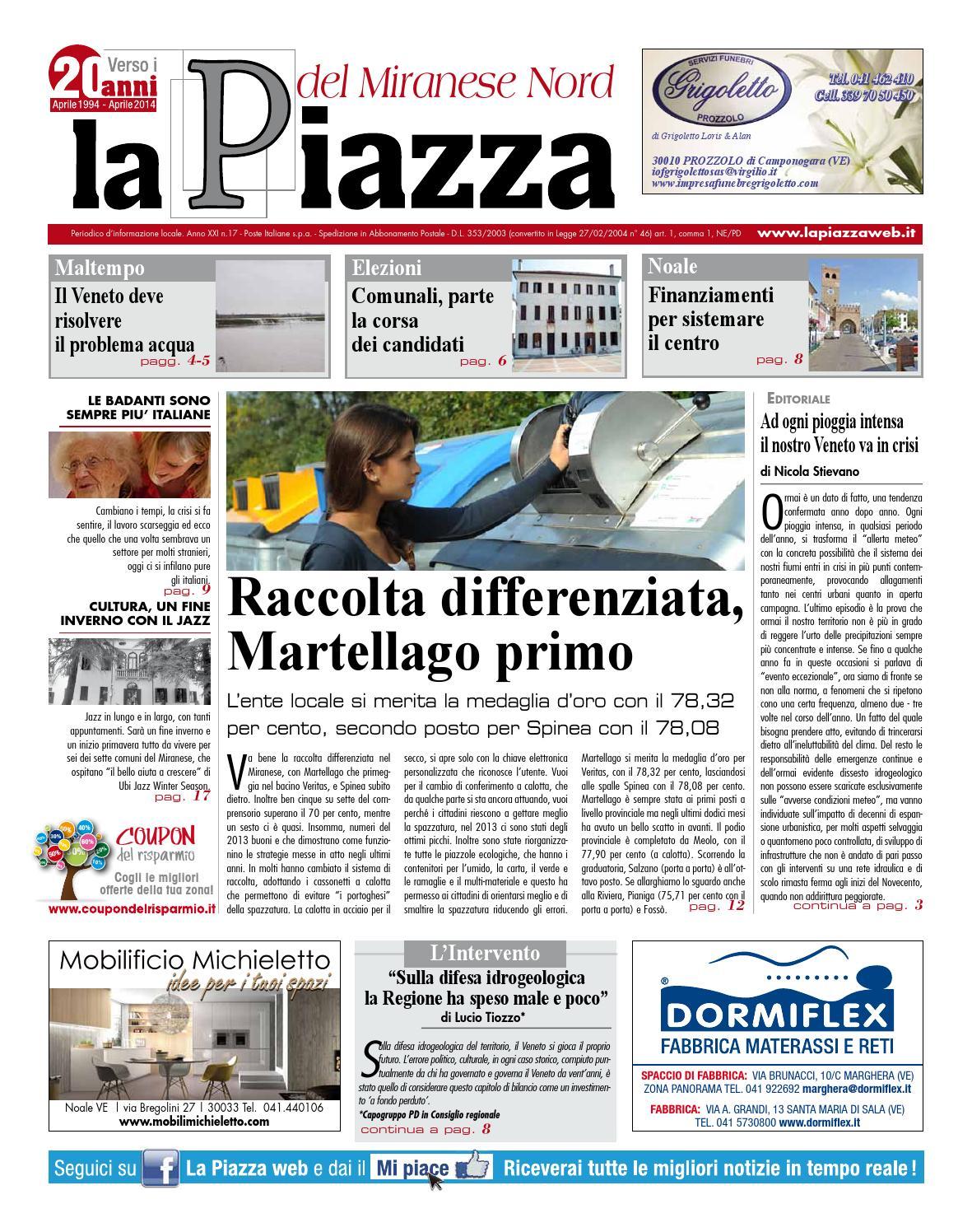 Mobilifici Italiani Elenco Fabbriche Mobili In Italia.Miranese Nord Febb2014 N17 By Lapiazza Give Emotions Issuu