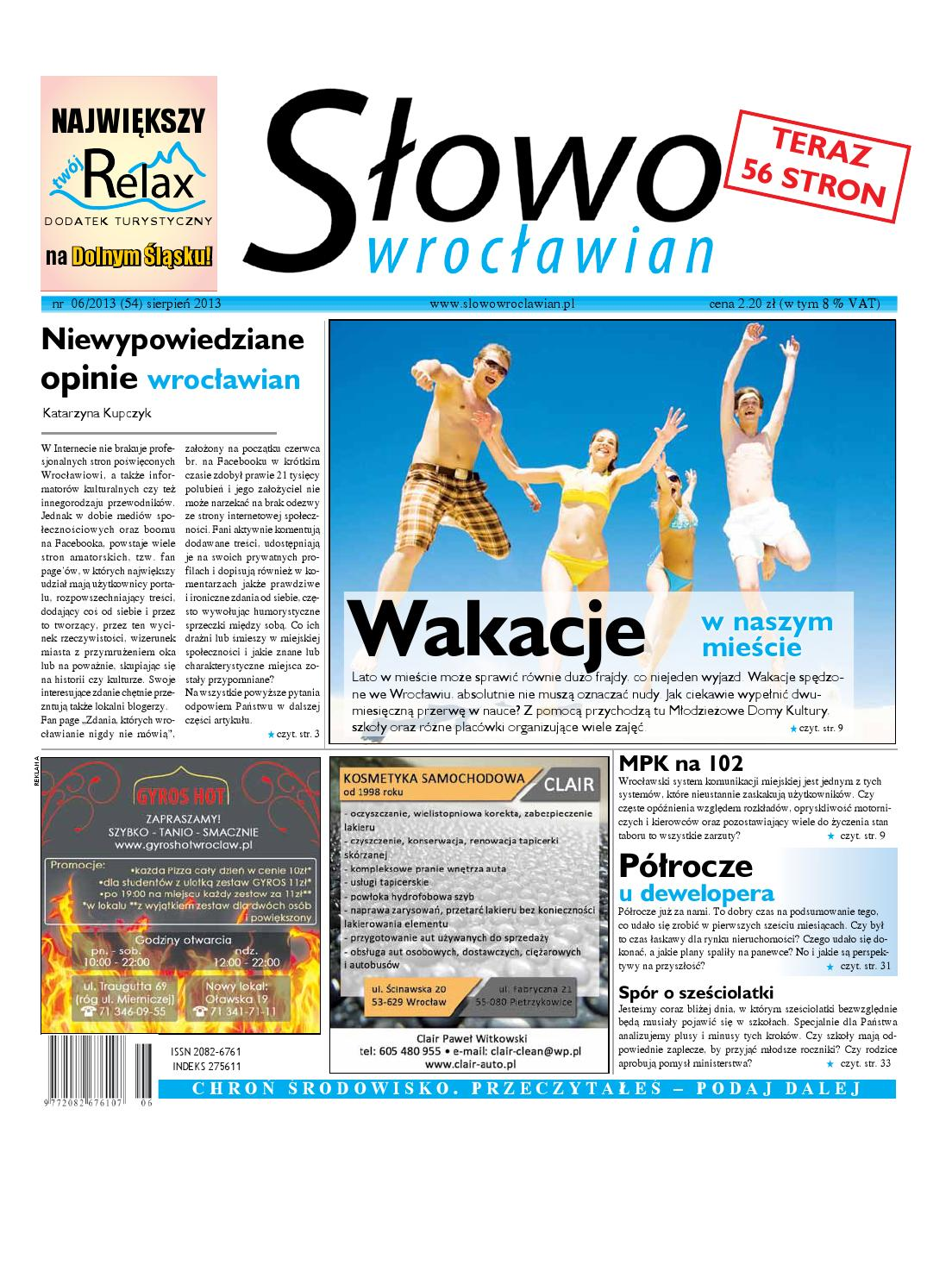 baa78cc9ff07b1 Sw54 by Słowo Wrocławian - issuu