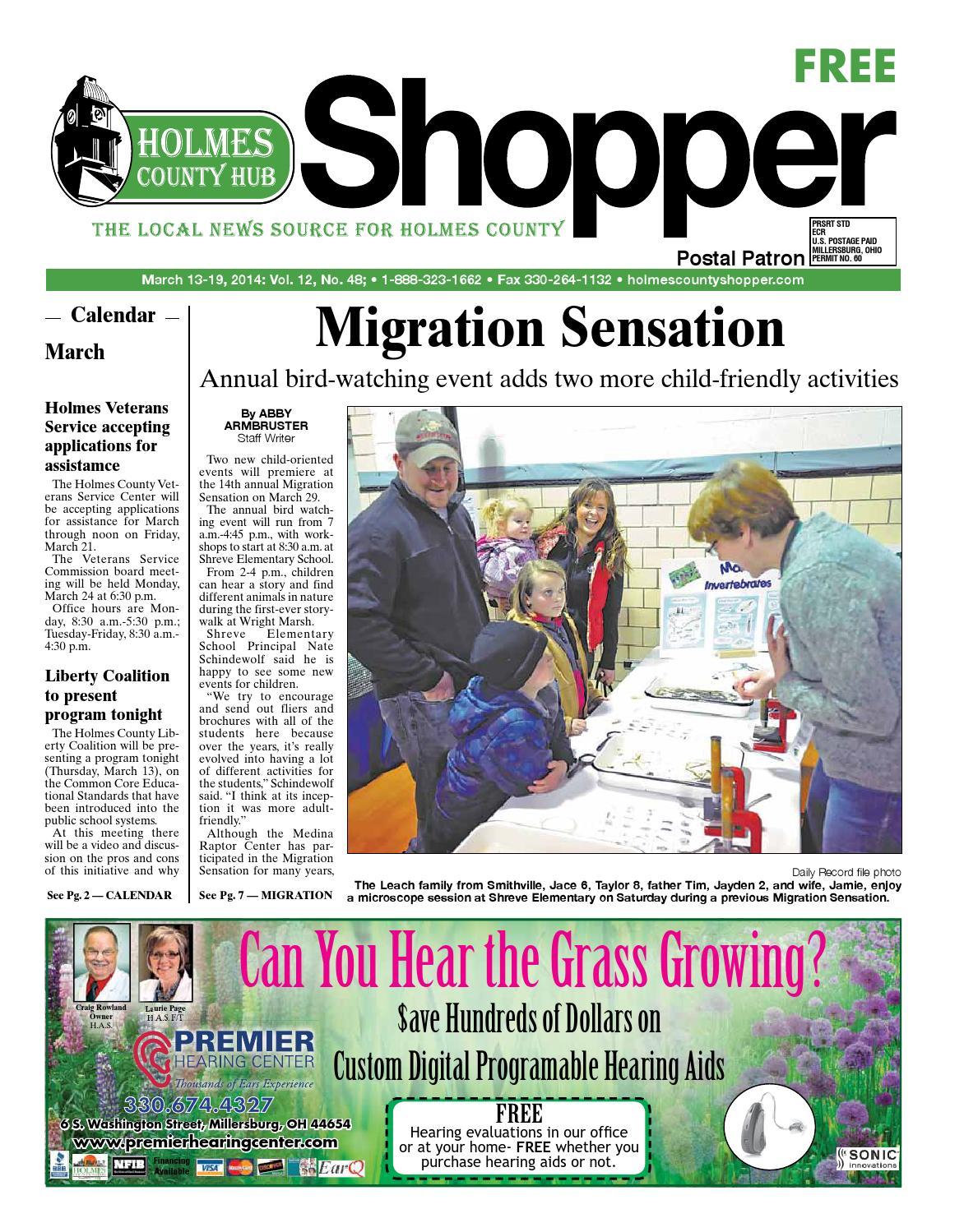 Holmes County Hub Shopper, March 13, 2014 by GateHouse Media