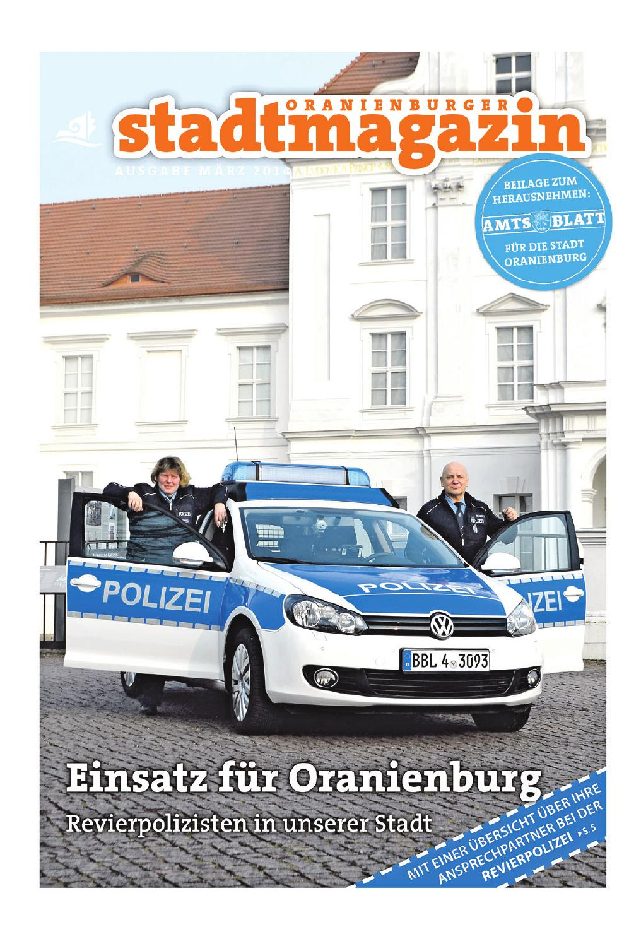 Oranienburger Stadtmagazin (März 2014) by Stadt Oranienburg - issuu