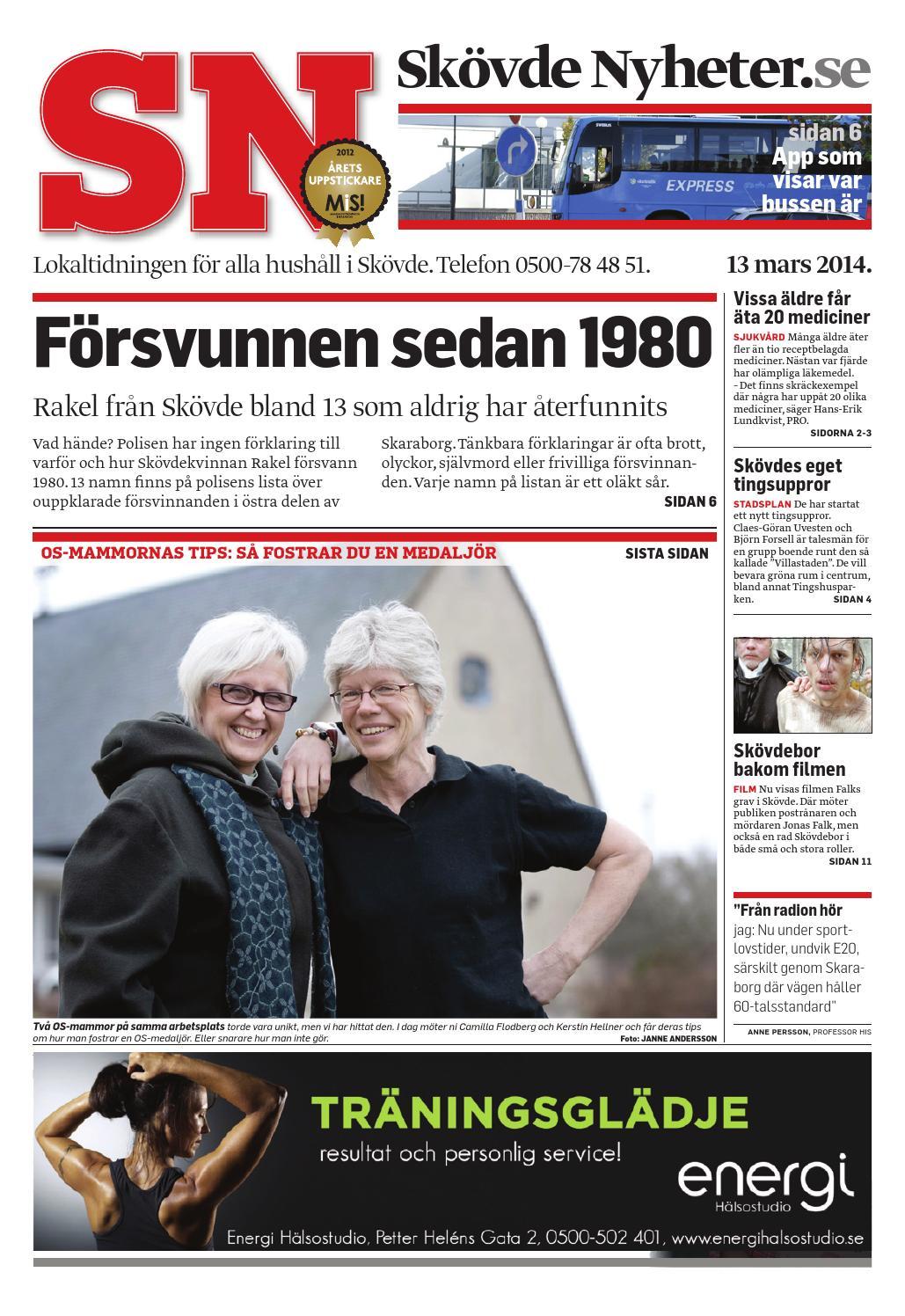 Sn140313 by Skövde Nyheter - issuu cb1e7cafd9158
