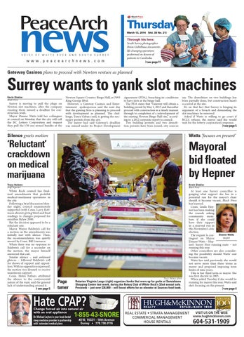 Peace Arch News March 13 2014 By Black Press Issuu