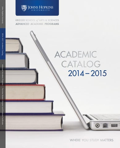 2014-2015 Academic Catalog, Advanced Academic Programs by