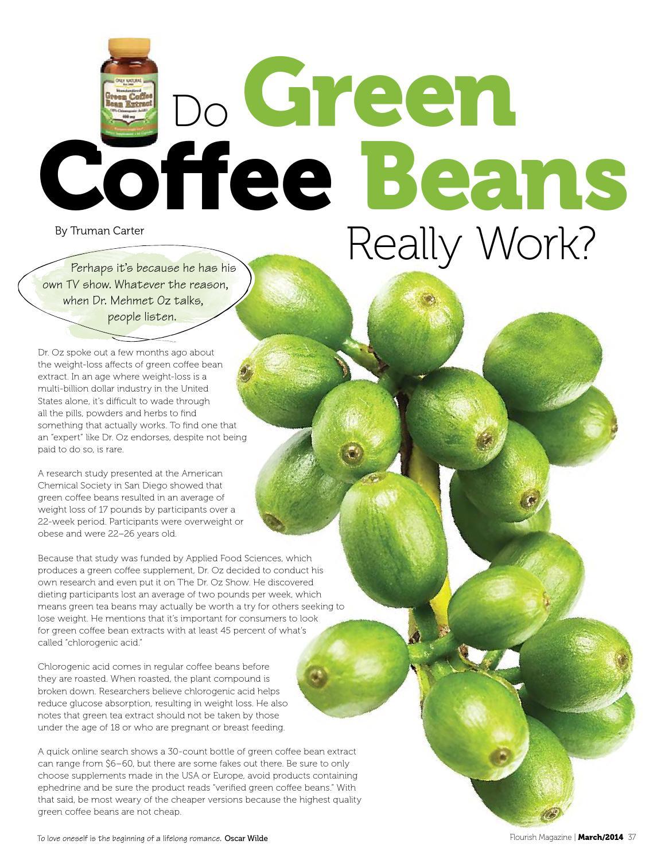 verified green coffee bean extract