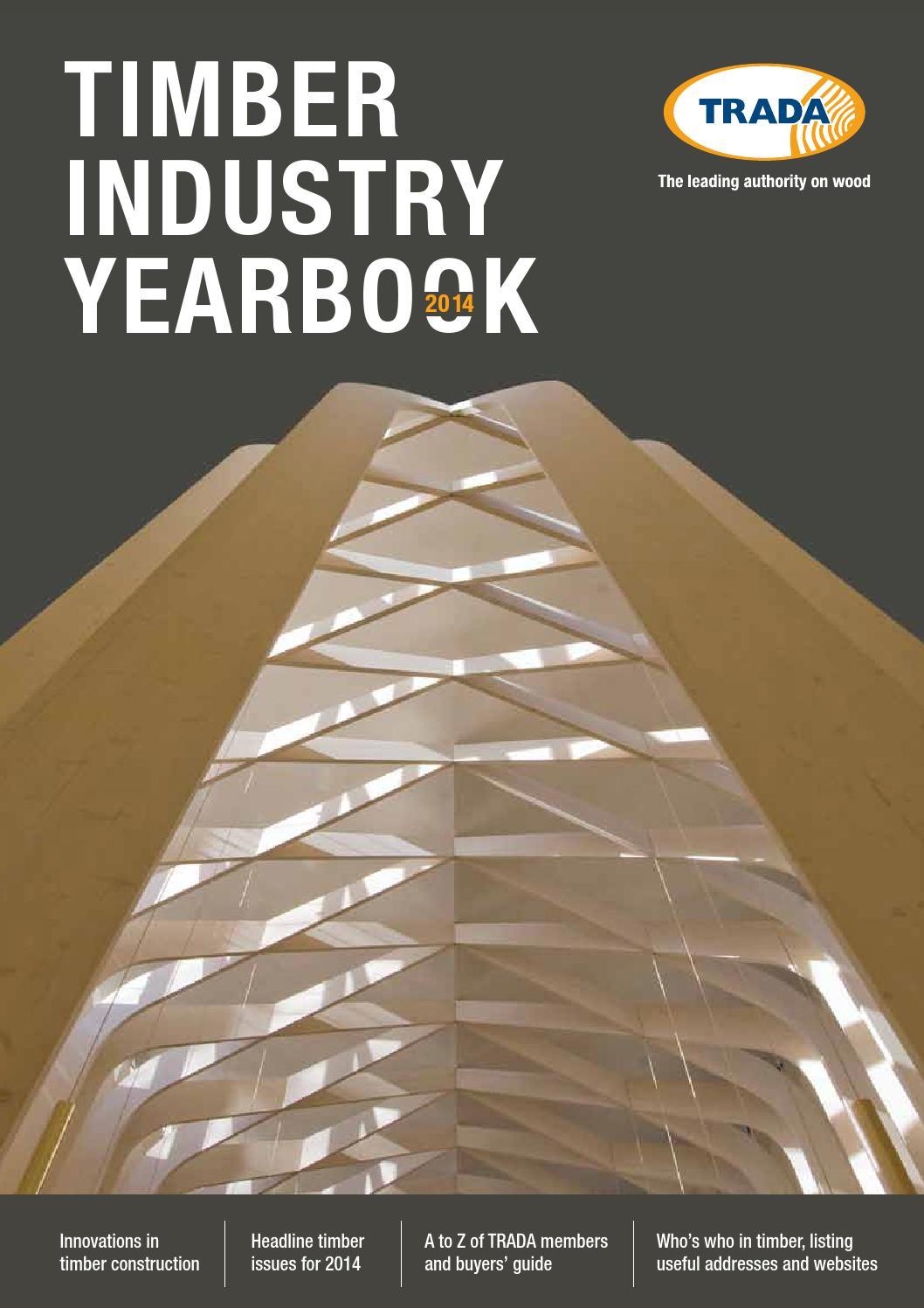 Trada Timber Industry Yearbook 2014 By Exova Bm Issuu Gmc Sierra Wiring Diagram Underfloor Board