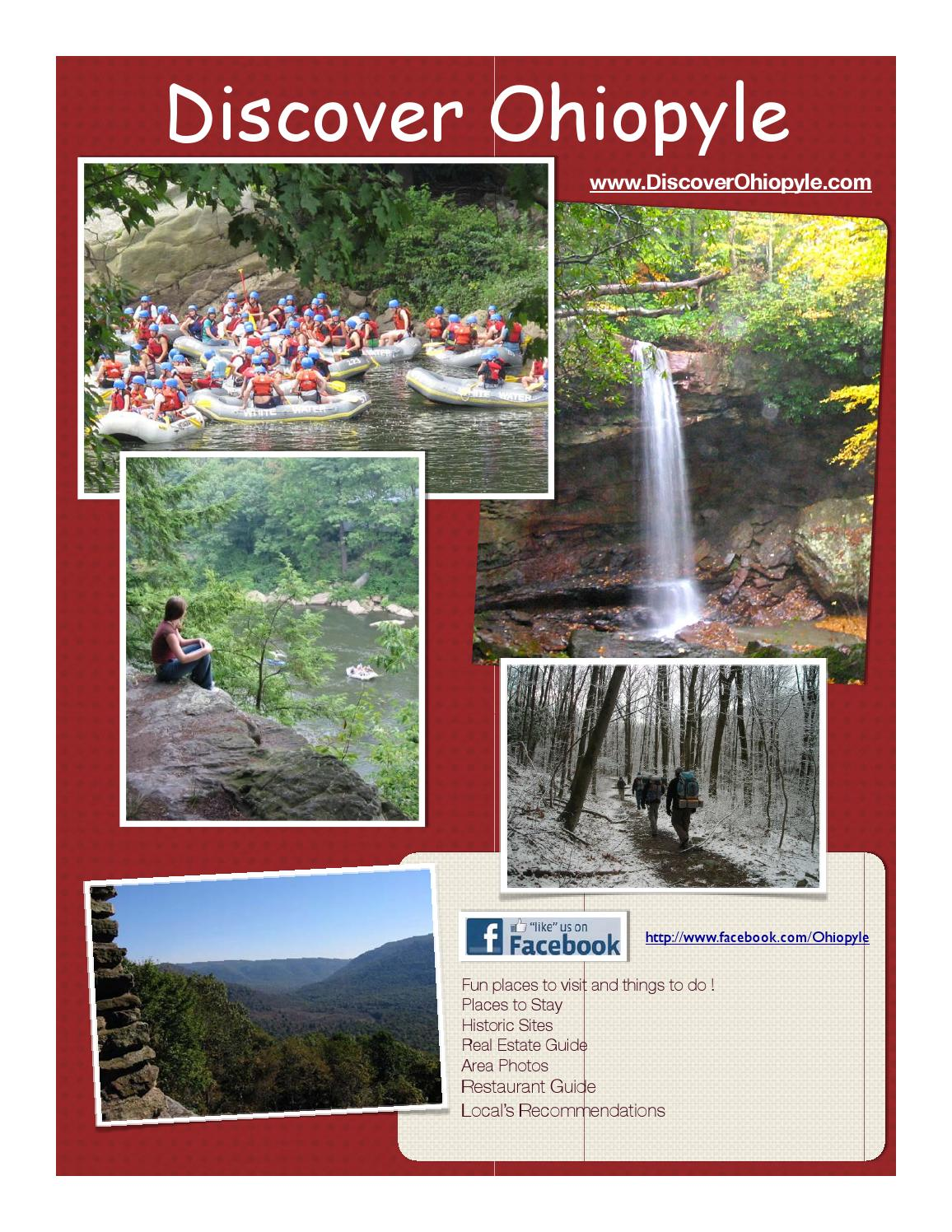 Discover Ohiopyle Visitors Guide 2014 By Ron Lovelace Issuu