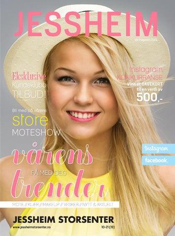 10b8481a Vaarmagasin 2014 by Jessheim Storsenter - issuu