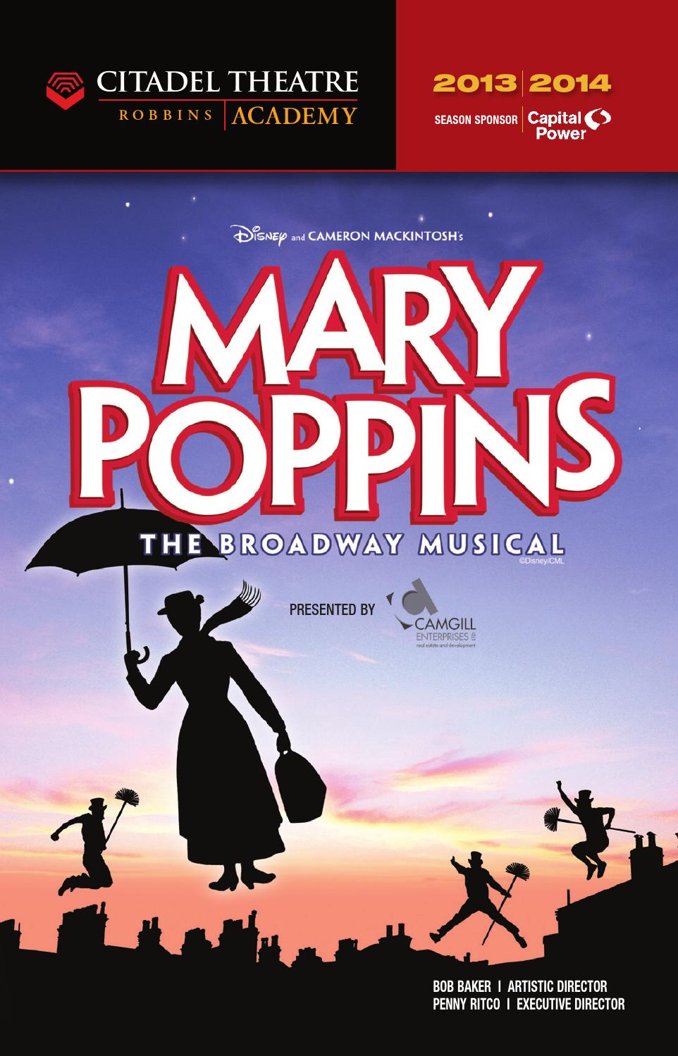 Citadel playbill Mary Poppins by Suggitt Publishers - issuu