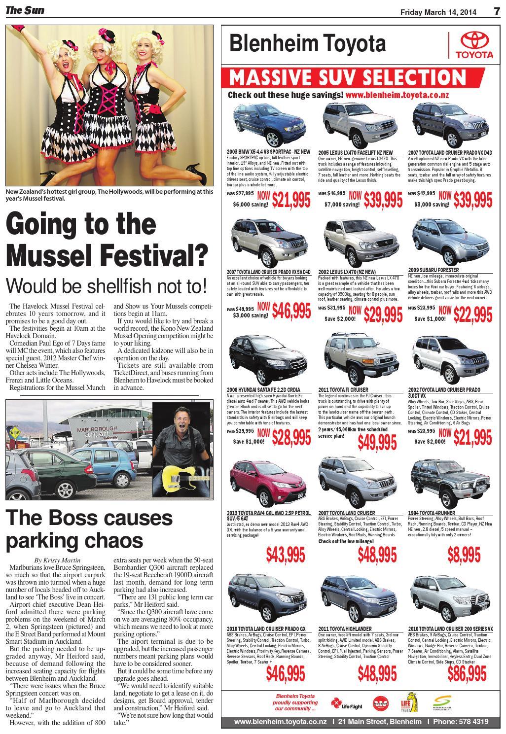 The Blenheim Sun 14-03-14 by Local Newspapers - issuu