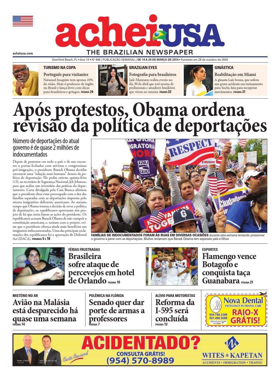 baaa7f0768 AcheiUSA 496 by AcheiUSA Newspaper - issuu