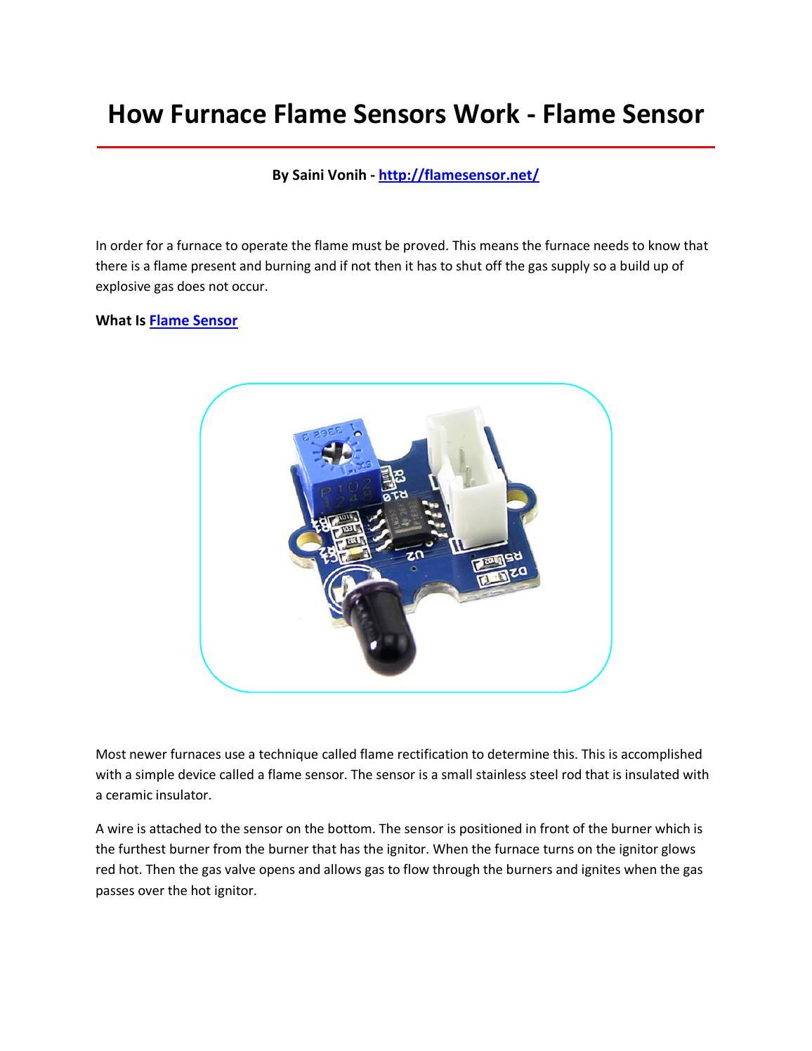 Flame sensor by seweowr - issuu