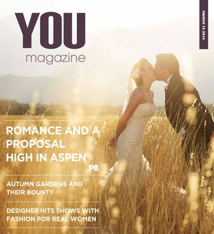 You magazine march 2014 by ashburton guardian issuu march 15 2014 you magazine romance and a proposal fandeluxe Gallery