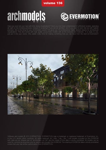 Archmodels vol 136 by Itoosoft S L  - issuu