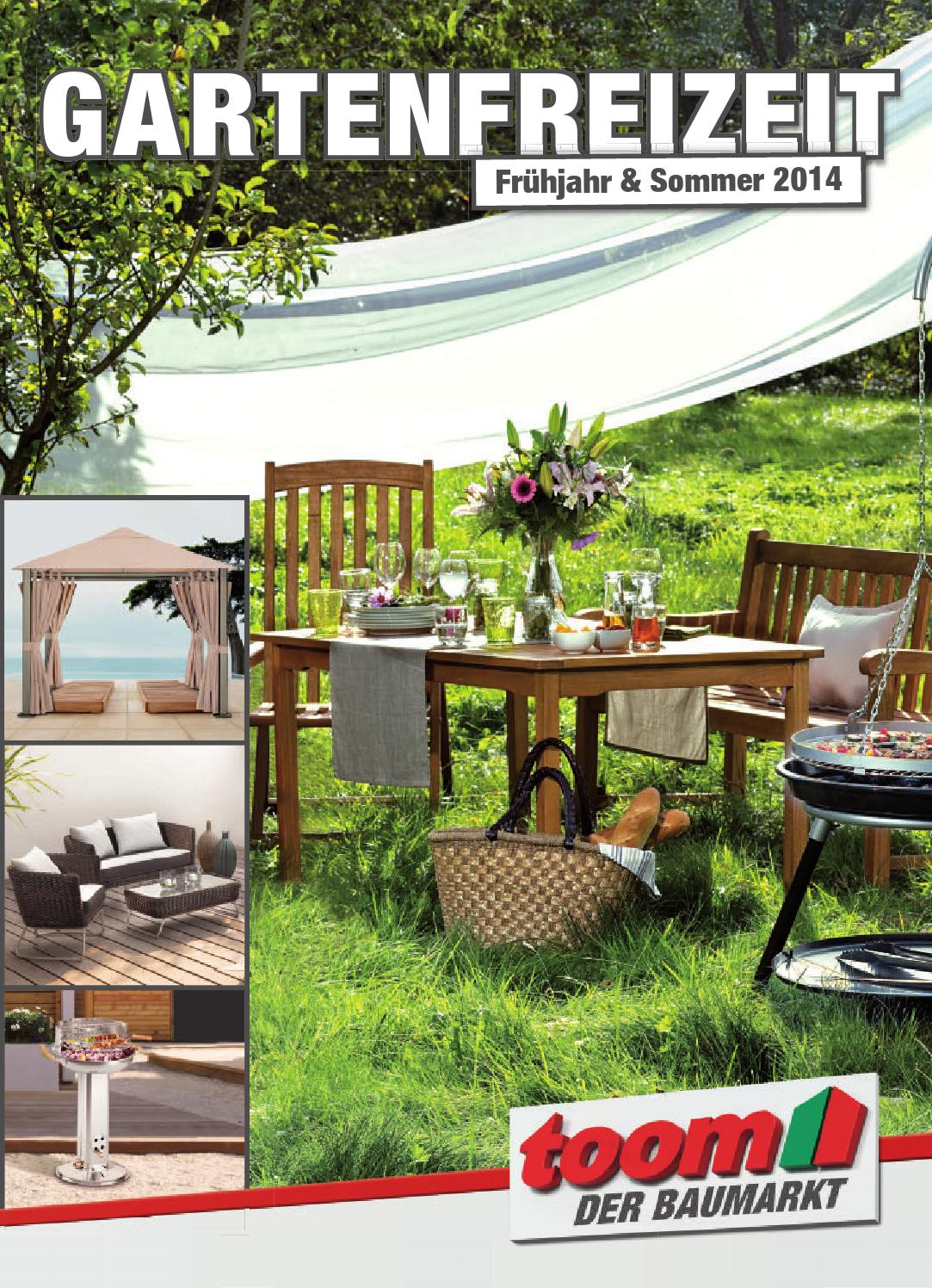 toom gartenfreizeit 2014 blaetterkatalog by catalogofree issuu. Black Bedroom Furniture Sets. Home Design Ideas