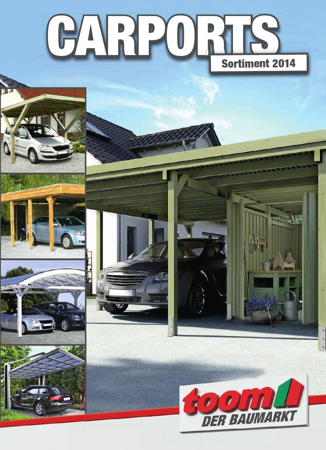 Toom Carport Katalog 2014 150dpi By Catalogofree