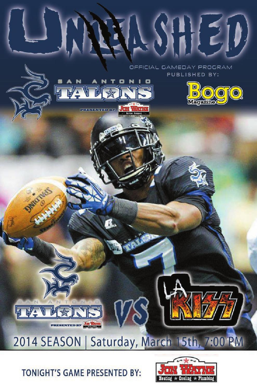 San Antonio Talons Unleashed Friday March 15th By Digital