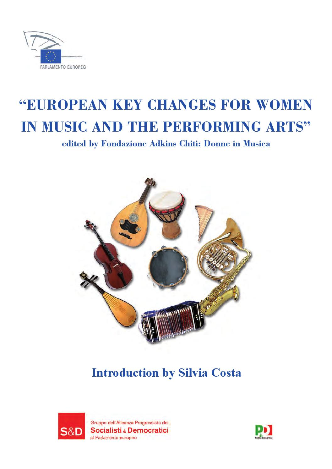 European Key Changes For Women In Music And Performing Arts