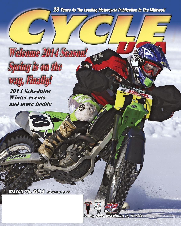 Cycle USA Mar  2014 by Cycle USA - issuu