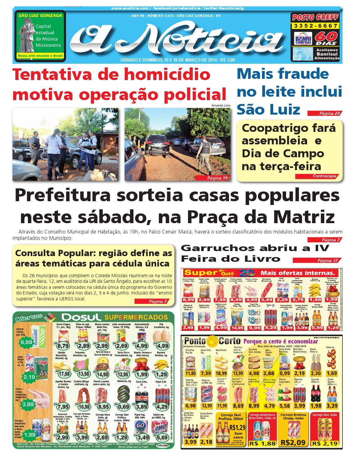 Edição 15 e 16 de março de 2014 by Jornal A Notícia - issuu 6ee17abcee
