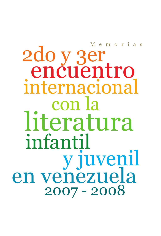 2do y 3er Encuentro de Literatura Infantil y Juvenil en Venezuela by ...