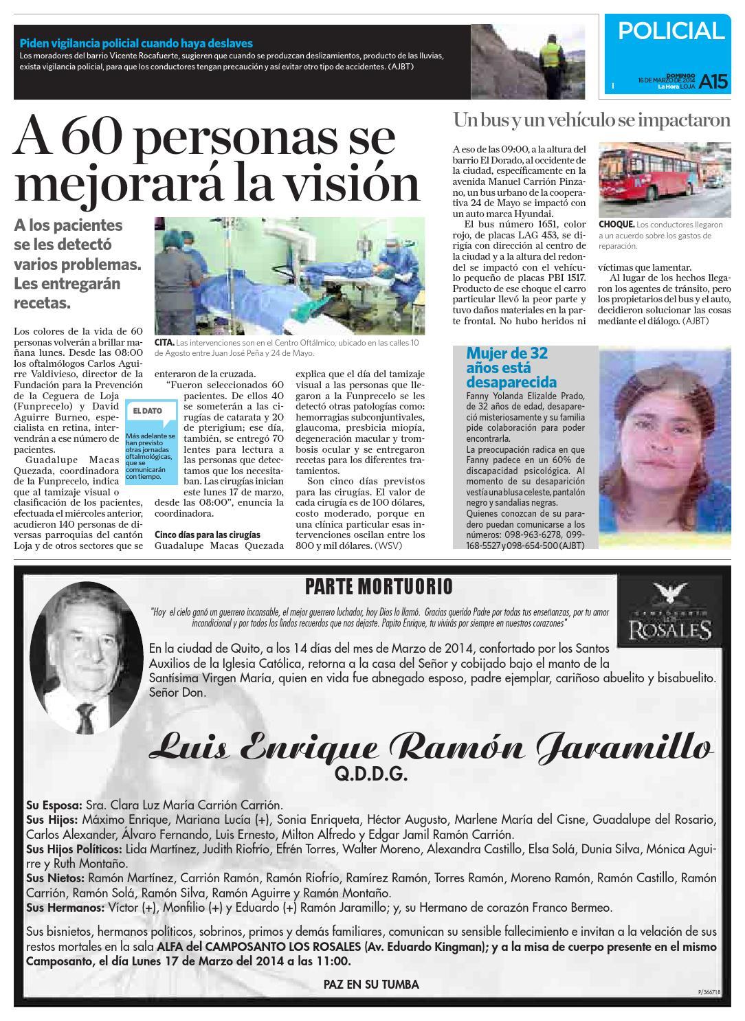 By De Marzo Diario Ecuador 2014 La Issuu 16 Hora Loja c4Lq35RAj
