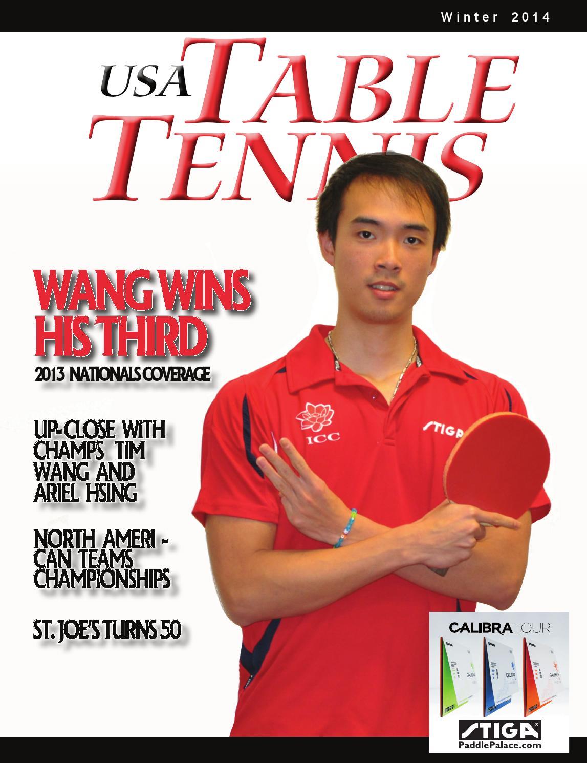 official photos fcdd3 bbeeb USA Table Tennis Magazine (2014 Winter)