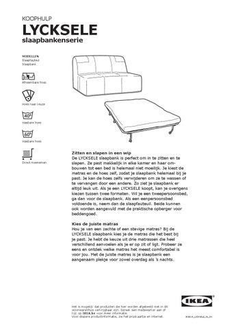Lyksele Slaapbank Ikea.Lycksele Slaapbank By Ikea Catalog Issuu