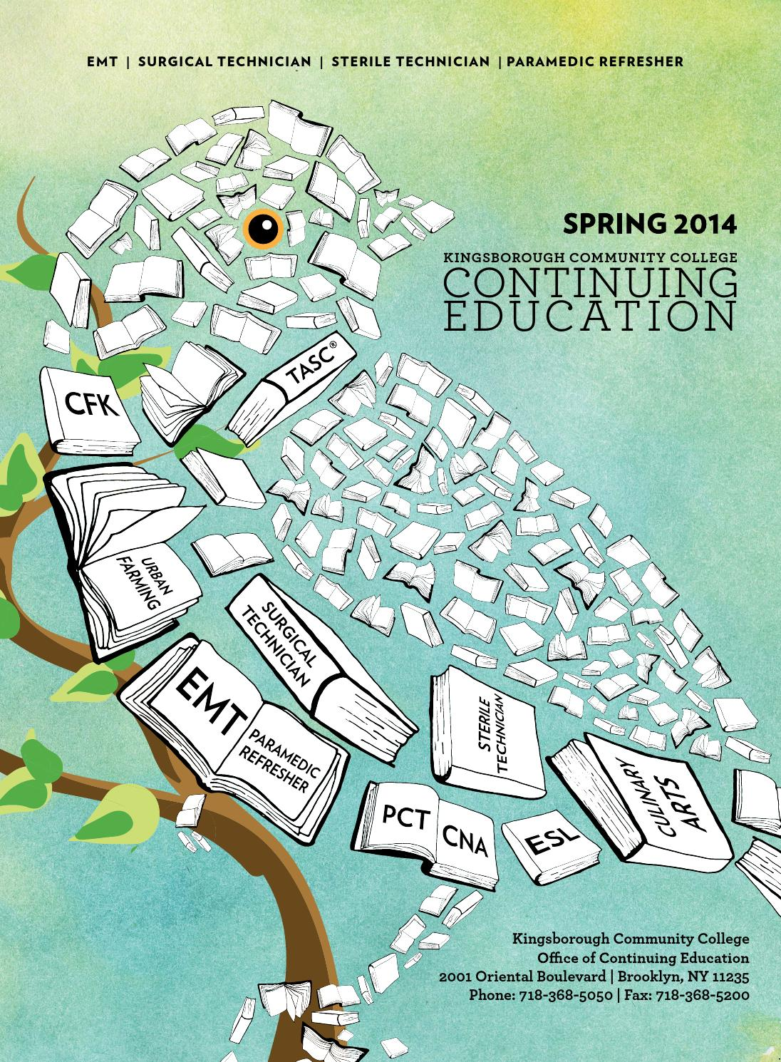 Kingsborough Continuing Education Spring 2014 Catalog by ...