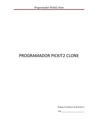 Programadors pickit2 clone by linerotech issuu page 1 ccuart Image collections